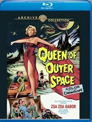 Queen Of Outer Space [New Blu-ray] Manufactured On Demand, Subtitled, Amaray C