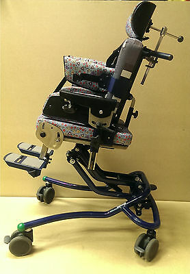 Used Leckey Contoured Advance Positioning Seat Size 2 High Low Positioning Chair