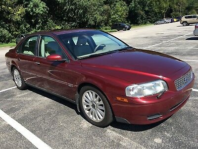 2004 Volvo S80 2.9 Limited 2004 Volvo S80 2.9L V6 No Reserve with completely new sport suspension and more