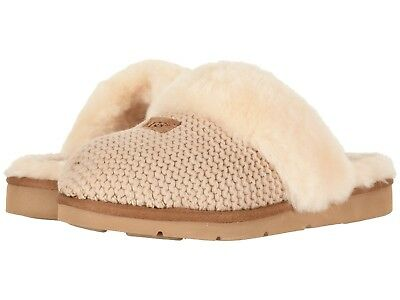 c29f9f634dd WOMEN'S SHOES UGG COZY KNIT Slippers 1095116 CREAM *New*