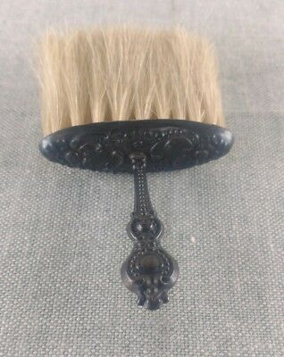 Antique Victorian Sterling Ornate Repousse Clothes Whisk Brush