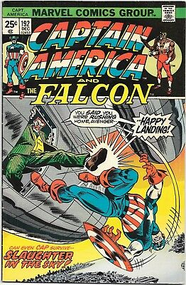 Bronze, Captain America #192 (Dec 1975, Marvel) TWO copies 1st Karlen Sofen VF