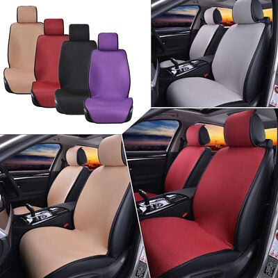 1/2 Pc Universal Breathable Mesh Car SUV Front Seat Cover Pad Seat Cushion Mat