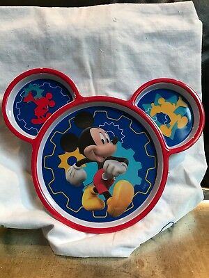 Mickey Mouse  Disney Store Divided Childrens Dish