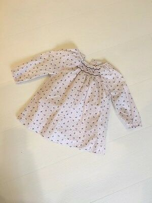 The Little White Company Floral Dress Age 6-9 Months