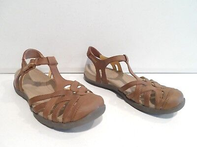 59c7a2392d63 BARE TRAPS Feena Brown Ankle Strap Sandals 8.5 M -  18.00