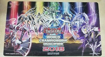 Yugioh Playmat Official WCQ 2018 Mekk knight Mekk-Knight BRAND NEW Nationals