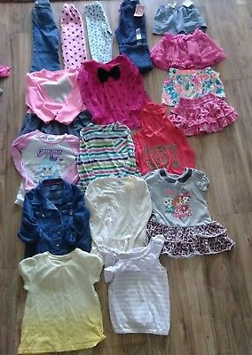18 Piece Lot of Girls Clothes SZ 4 - 5