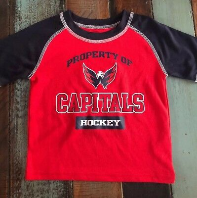 WASHINGTON CAPITALS KIDS Pullover Hoodie Red Youth Boys Size L NHL ... 472f21a41