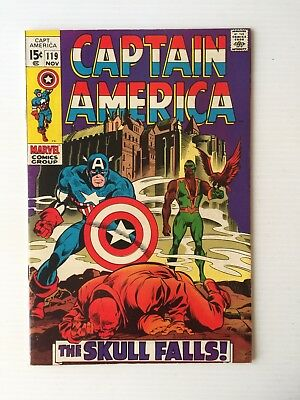 Captain America #119 - 3rd Appearance The Falcon! NICE BOOK!!