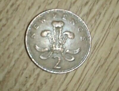 Rare 1971 2p new pence coin valuable British UK collectors item penny