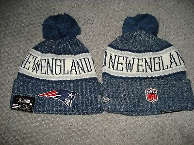 ... official store new england patriots new era knit hat on field 2018  sideline knit cap 645df 5fc83ee9b908