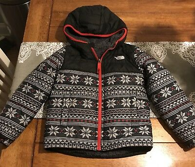 Boys 6t The North Face Reversible Coat Jacket (fits a 5t)