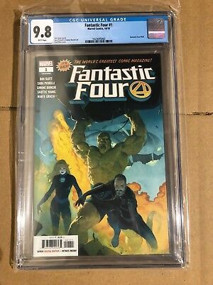Fantastic Four #1 2018 CGC Graded 9.8 Slott