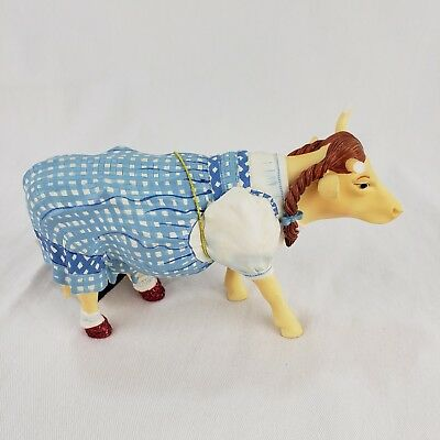 Cow Parade Figurine Dorothy Cow The Wizard of Oz #7241 Retired and Rare