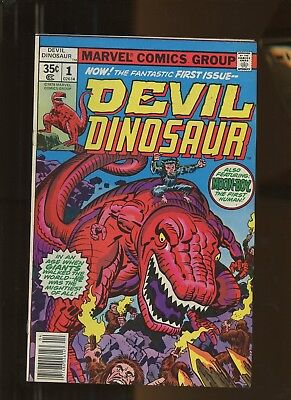 Devil Dinosaur 1 VF 7.5 *1 Book* 1978, Marvel! 1st app DD & Moon Boy! Jack Kirby