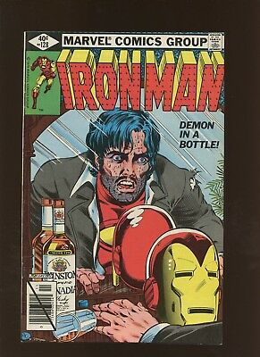 Iron Man 128 FN/VF 7.0 * 1 Book Lot * Demon in A Bottle! Tony VS Alcoholism!