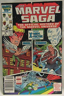 The Marvel Saga: The Official History of the Marvel Universe #5 (Apr 1986)