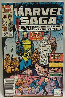 The Marvel Saga: The Official History of the Marvel Universe #6 (May 1986)