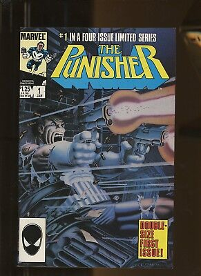 Punisher limited series 1 VF 8.0 * 1 Book Lot * 1986, Marvel! Jigsaw! Mike Zeck!