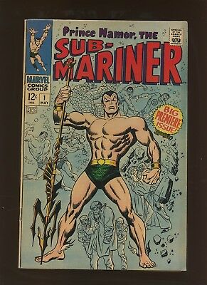 Sub-Mariner 1 FN 6.0 * 1 Book * 1st Solo Namor Issue and Series! John Buscema!