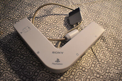 Official Sony Playstation PS1 multitap multi tap 4 controller input