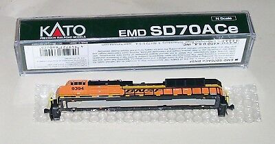 Kato BNSF SD70ace body shell N scale