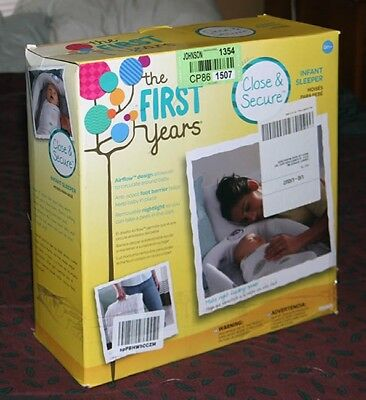 The First Years Close & Secure Sleeper By Your Side Baby Bassinet
