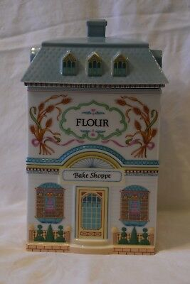 The Lenox Village Collection Flour Canister Bake Shoppe 1990