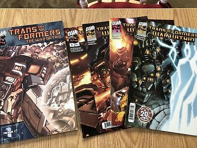 Dreamwave Transformers Comics The War Within Volume 1 Trade Paperback