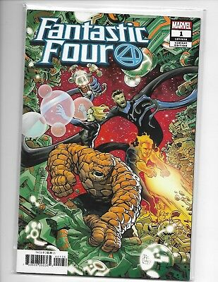 Fantastic Four # 1 Variant Eric Powell