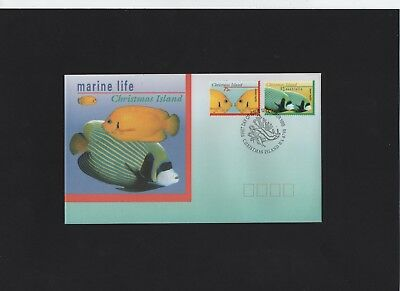 1995 Christmas Island Marine Life First Day Cover