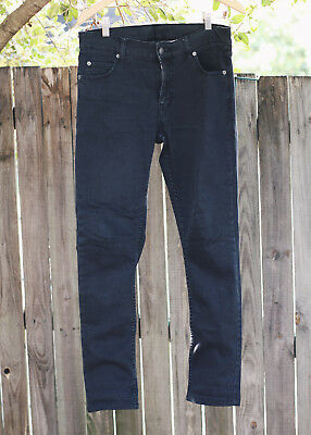 Unisex Cheap Monday Tight Grey Star Skinny Jeans 31/30 Sweden