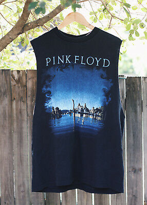 Vintage XL Pink Floyd Wish You Were Here Muscle Shirt Singlet Made in USA