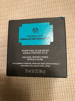 The Body Shop Himalayan Charcoal Purifying Glow Mask 3 oz Skincare