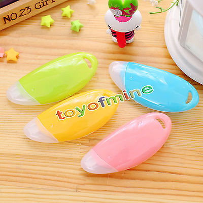 Colorful Roller White Out School Office Study Stationery 6M Correction Tape Tool