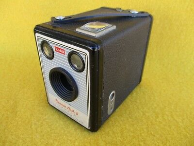 Vintage Kodak Box Brownie Camera Flash 11,  Melb. Australia Photo Collector  Old