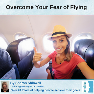Overcome Your Fear of Flying & Flying Phobia with a Self-Hypnosis CD @HALF PRICE