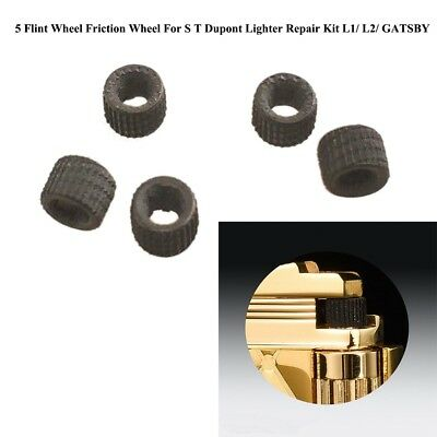 5 Flint Wheel Friction Wheel For S T Dupont Accendino Repair L1/ L2/ GATSBY DB