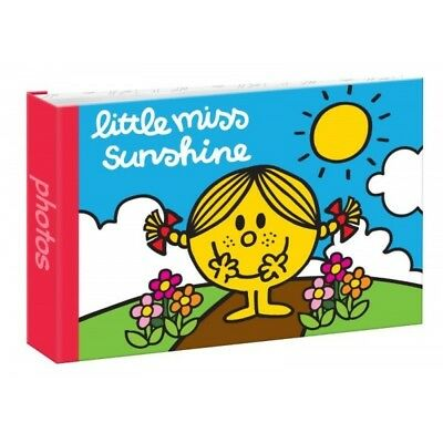 "Mr Men Photo Album Miss Sunshine 6""x4""/10x15cm Slipin Photos Album 24 Photos"