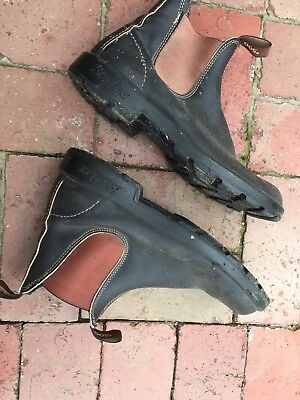 Blundstone 500 Elastic Side Boots Brown Sz 11  / 9 Blundstone Leather Boots
