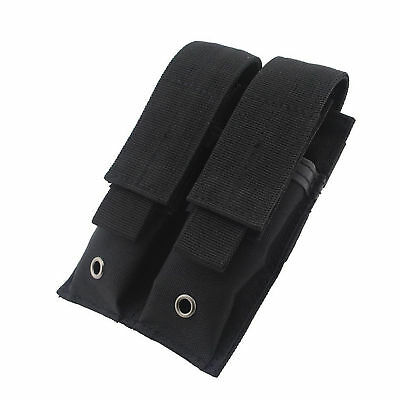 Condor MA23 Double Pistol Mag Pouch Black Tactical magazine Molle