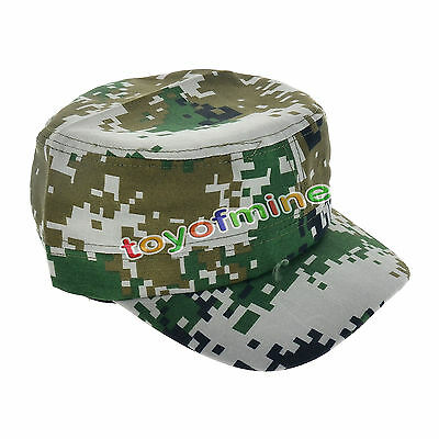 Camouflage Army Camo Baseball Cap Forest Hunting Hat Adjustable Cadet/Military