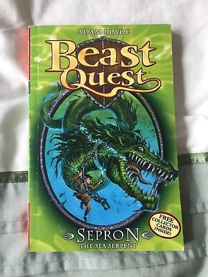 Beast Quest Book Series 1, Sepron