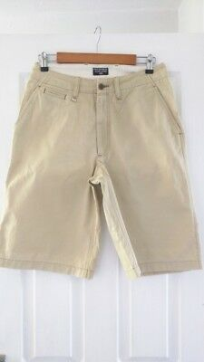 Mens Ralph Lauren cream Chino short Waist 31