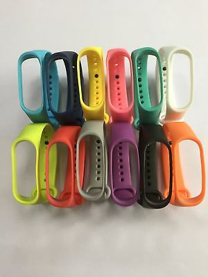 Fit XIAOMI MI Band 3 WristBand Bracelet Replacement Silicon Wrist Strap