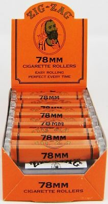 Zig-Zag 78MM Roll Machine - Box 12 ROLLER - Cigarette Rolling Papers Zig Zag