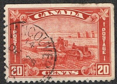 Canada 175 USED Harvesting Wheat error (dated 14 dec 1928) before issue of 1930