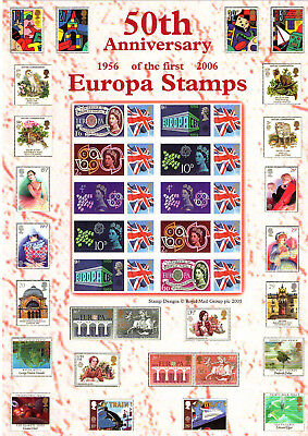 Stamp Sheet: 50Th Anniversary Of The First Europa Stamps
