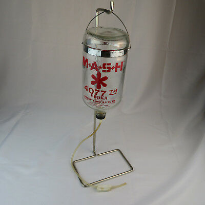 MASH 4077 Vodka Dispenser - Straight from the Swamp VTG 80's Decanter